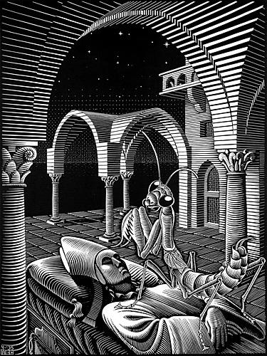 Maurits Cornelis Escher - Dream
